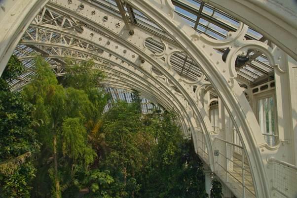 Kew interior metalwork